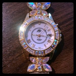 KIRKS FOLLY• Brilliant Butterfly Fairy Light Watch